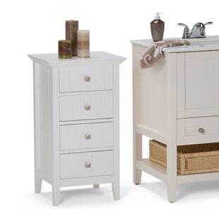 Acadian 18  W x 32.09  H Cabinet  sc 1 st  Wayfair & Tall Slim Bathroom Cabinet | Wayfair