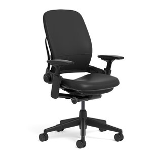 Steelcase Leap® Leather High-Back Desk C..