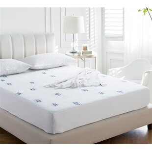 Purchase Cozy Plush Jacquard Knit Polyester Mattress Pad By Alwyn Home