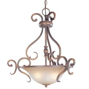 Eagle Pointe 3-Light Bowl Pendant by Classic Lighting