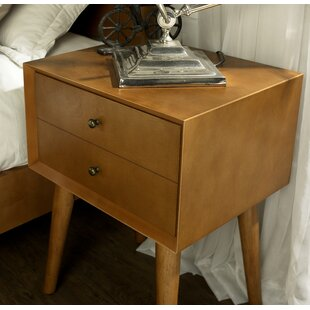 Easmor 1 Drawer Nightstand