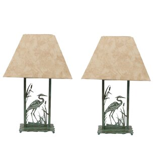 Heron Die-Cut 21.5 Table Lamp (Set of 2)