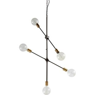 George Oliver Wolford 5-Light Chandelier