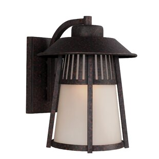 Burkettsville 1-Light Outdoor Wall Lantern by Darby Home Co