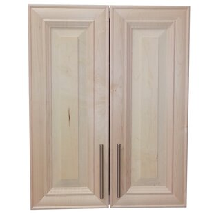 Overton 21 W x 21 H Recessed Cabinet by WG Wood Products