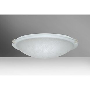 Besa Lighting Trio 2-Light LED Outdoor Flush Mount