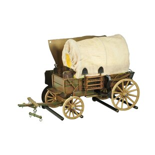Best Review 1-Light Covered Wagon Wall Sconce By Meyda Tiffany