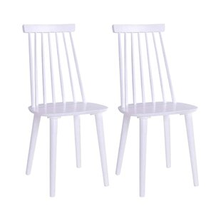 Oberon Dining Chair - White (Set Of 2) By Norden Home