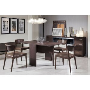 Camron  5 Piece Tempered Glass Top Dining Set by Orren Ellis