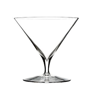 Elegance Martini Crystal Cocktail Glass Set Of 2