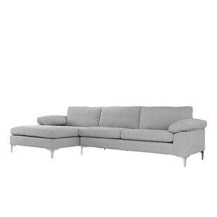 Affordable Barto Modern Large L Shape Sectional by Wrought Studio Reviews (2019) & Buyer's Guide