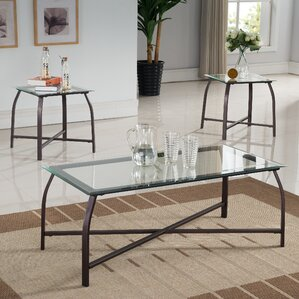 Kassandra 3 Piece Coffee Table Set