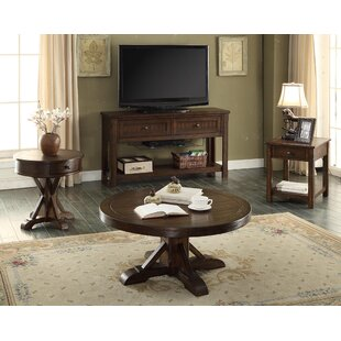 Tremper 4 Piece Coffee Table Set