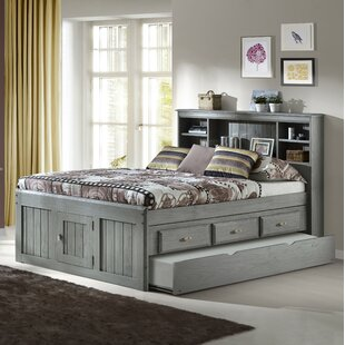 Ercole Full Mate S Captain Bed With Drawers And Trundle