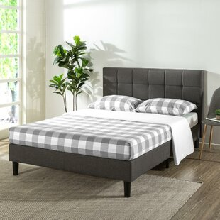 Compare Gervais Upholstered Platform Bed by Ebern Designs Reviews (2019) & Buyer's Guide