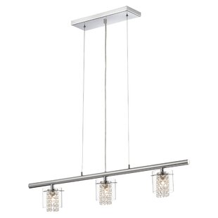 Everly Quinn Algol 3-Light Kitchen Island Pendant