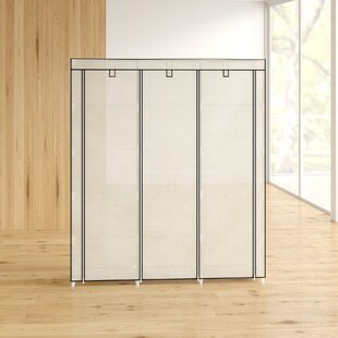 Mccart 150 Wide Canvas Portable Wardrobe By Rebrilliant
