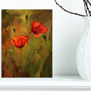 Silk Poppy Flowers Wayfair