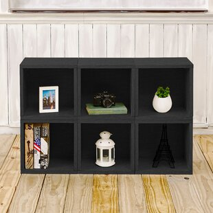 Dehart Cube Bookcase (Set of 6) by Ebern Designs