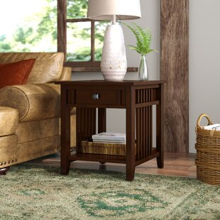 Price Check Kaela End Table With Storage By Mistana
