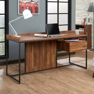 Kuhlman Contemporary Writing Desk by Union Rustic Top Reviews