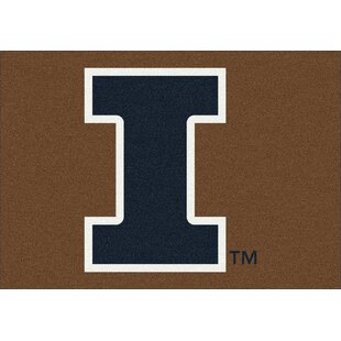 Collegiate University of Illinois Fighting Illini Door mat by My Team by Milliken