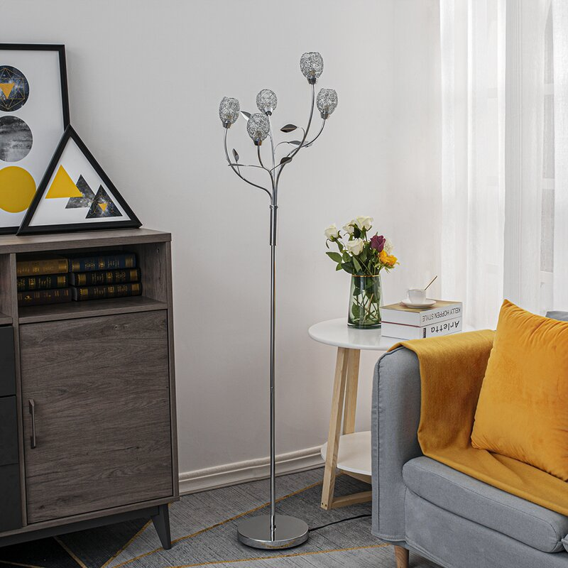 Orren Ellis Cluff 60 Novelty Floor Lamp Reviews Wayfair