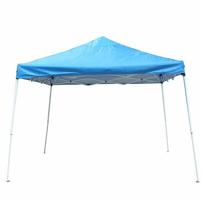 Collapsible 12 Ft. W x 12 Ft. D Pop-Up Canopy ALEKO