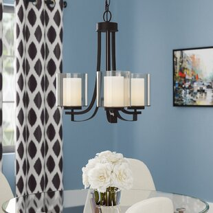 Demby 3-Light Shaded Shaded Chandelier by Ebern Designs