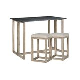 3 - Piece Counter Height Breakfast Nook Dining Set by Gracie Oaks