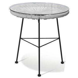Loucks Metal Patio Table By Sol 72 Outdoor