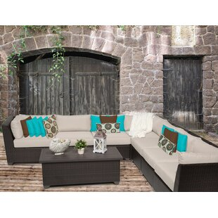 Medley 8 Piece Sectional Seating Group With Cushions by Rosecliff Heights Reviews