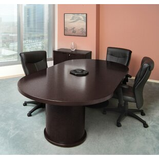 Mira Racetrack Oval 29H X 48W 96L Conference Table