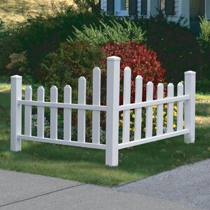 31.6 in. x 48.5 in. Country Corner Picket..