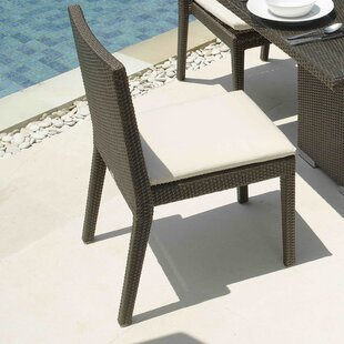 Hicklin Patio Dining Chair with Cushion