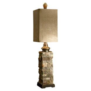 Moss Layered 30 Buffet Lamp