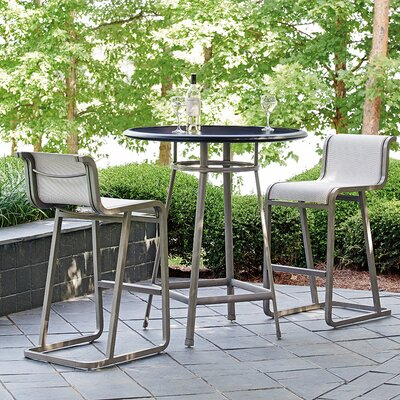 Del Mar 3 Piece Table Bistro Set by Tommy Bahama Home #1
