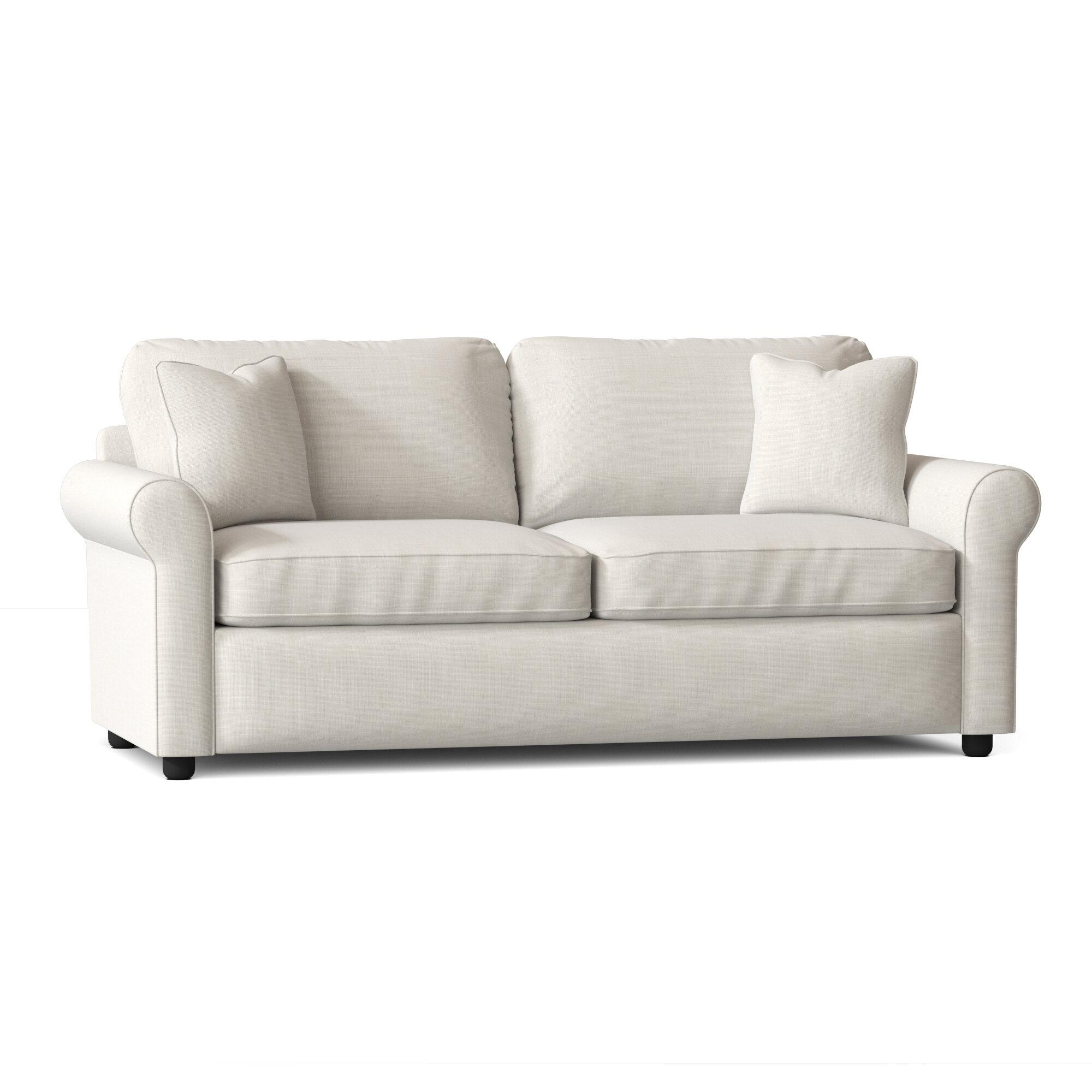 Wayfair Custom Upholstery 82 Rolled Arm Sofa Reviews Wayfair