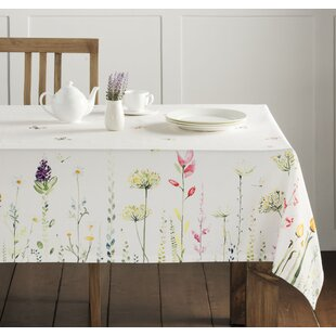 Attirant Botanical Fresh Tablecloth