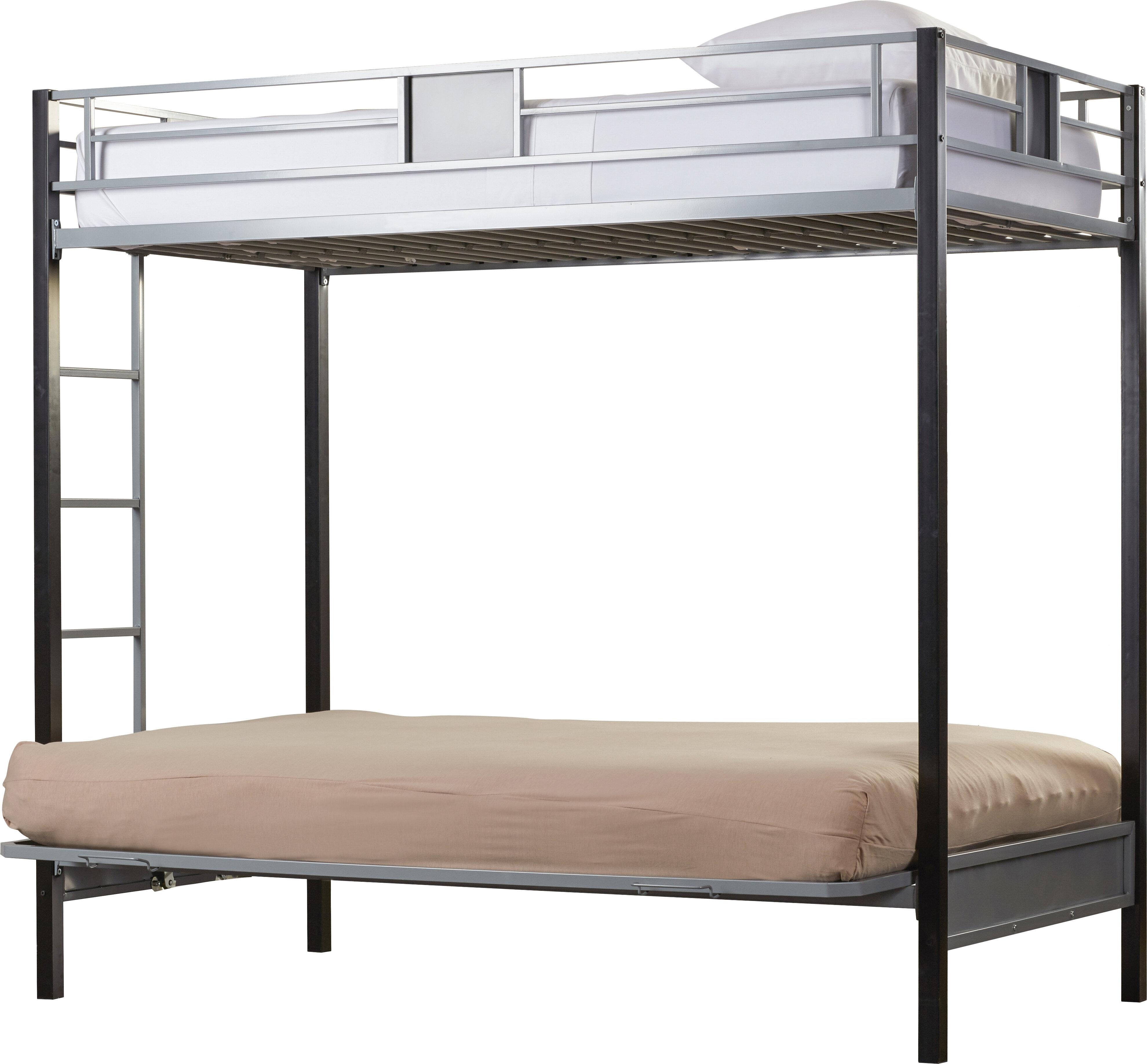size 40 eccd7 100ce Viv + Rae Elya Twin Over Full Futon Bunk Bed & Reviews | Wayfair