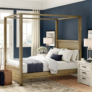 Topsfield Canopy Bed by Three Posts
