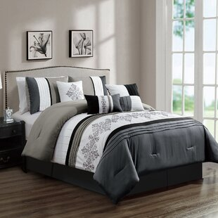 Ulmer Embroidery 7 Piece Comforter Set