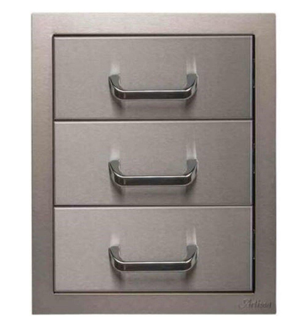 Artisan 17 Stainless Steel Drop In Drawers Wayfair
