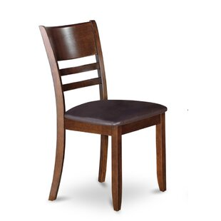 Lockmoor Side Chair with Faux Leather Seat (Set of 2) by Red Barrel Studio