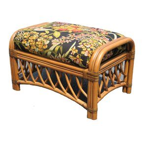 Montego Bay Ottoman by Spice Islands Wicker