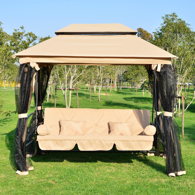 Darby Home Co Debora Patio Porch Swing & Reviews