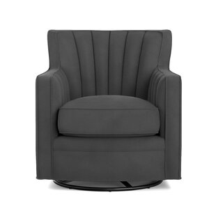 Bima Swivel Armchair by Zipcode Design