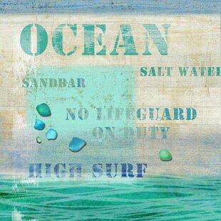 ocean themed wall art wayfair