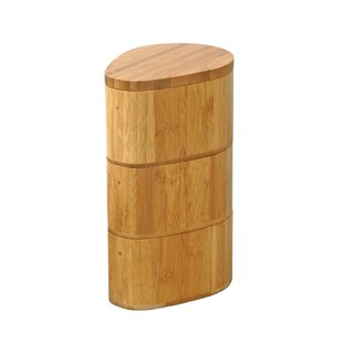 Top Harless Bamboo 3 Tier Salt Box By Symple Stuff