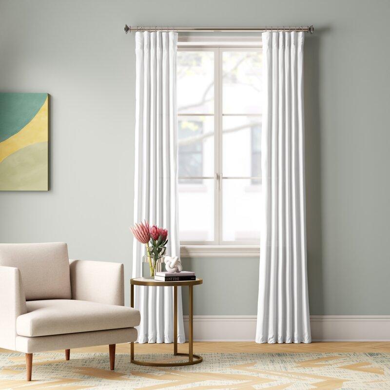 Creola Single Curtain Panel Reviews Allmodern